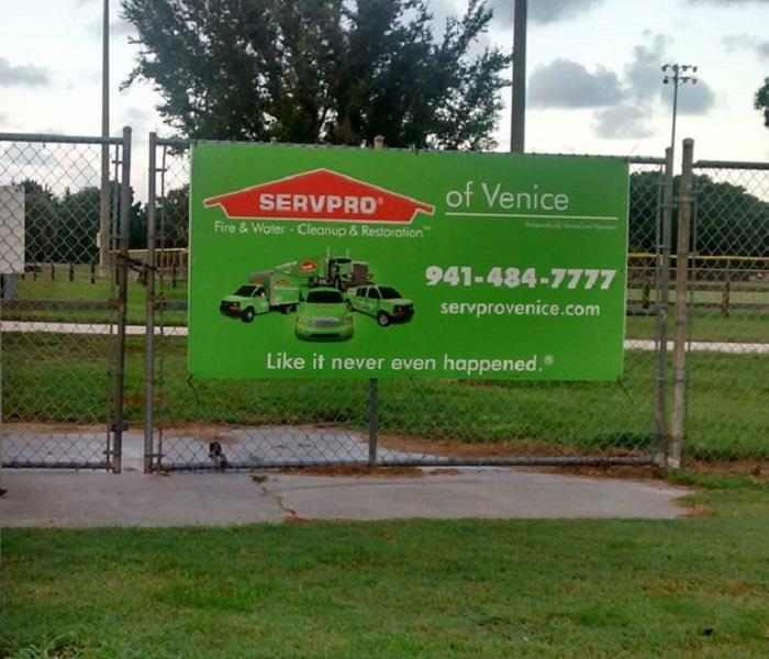 Sponsors of the Venice Vikings Pop Warner Football team